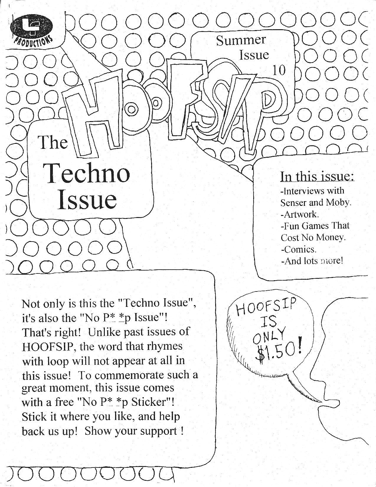 HOOFSIP #10 Cover