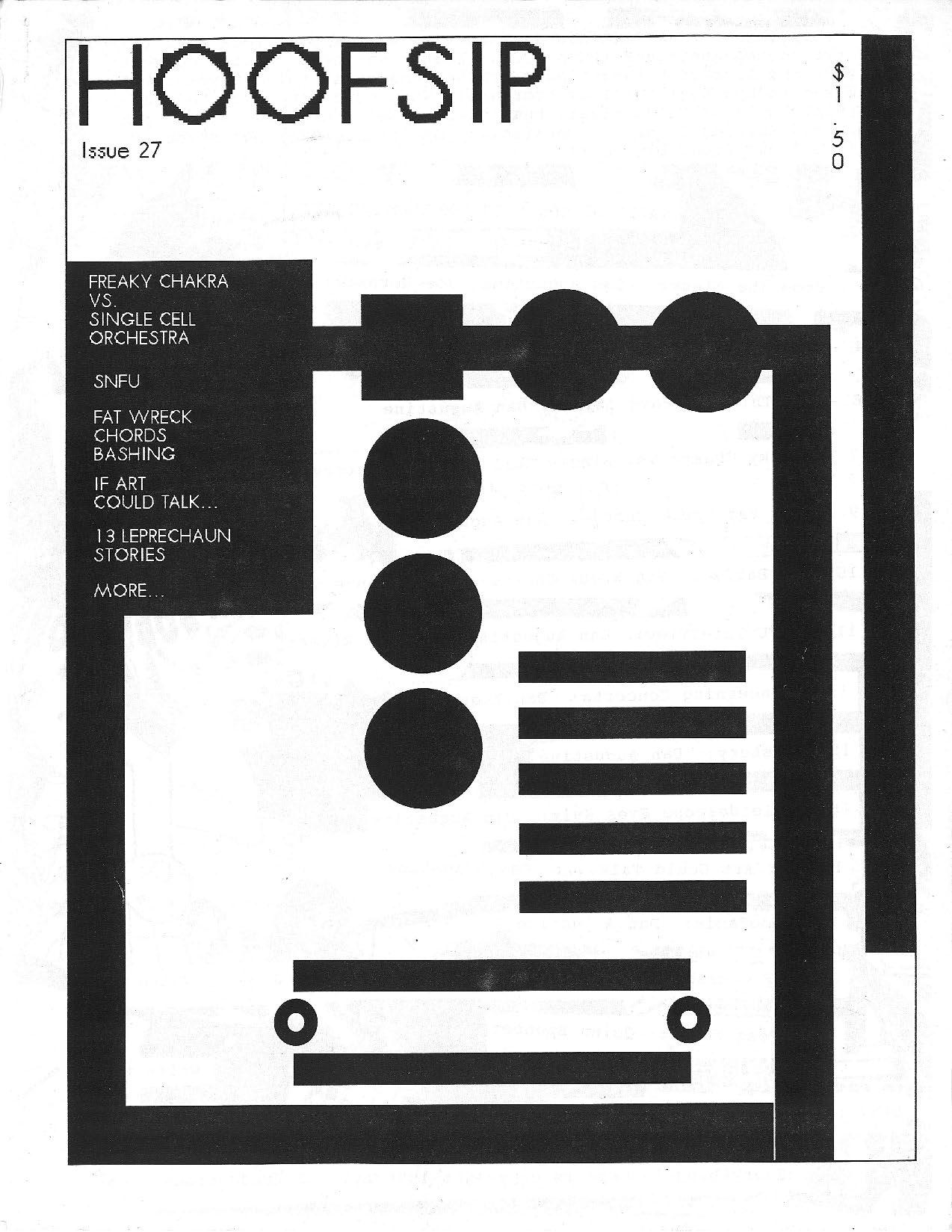 HOOFSIP #27 Cover