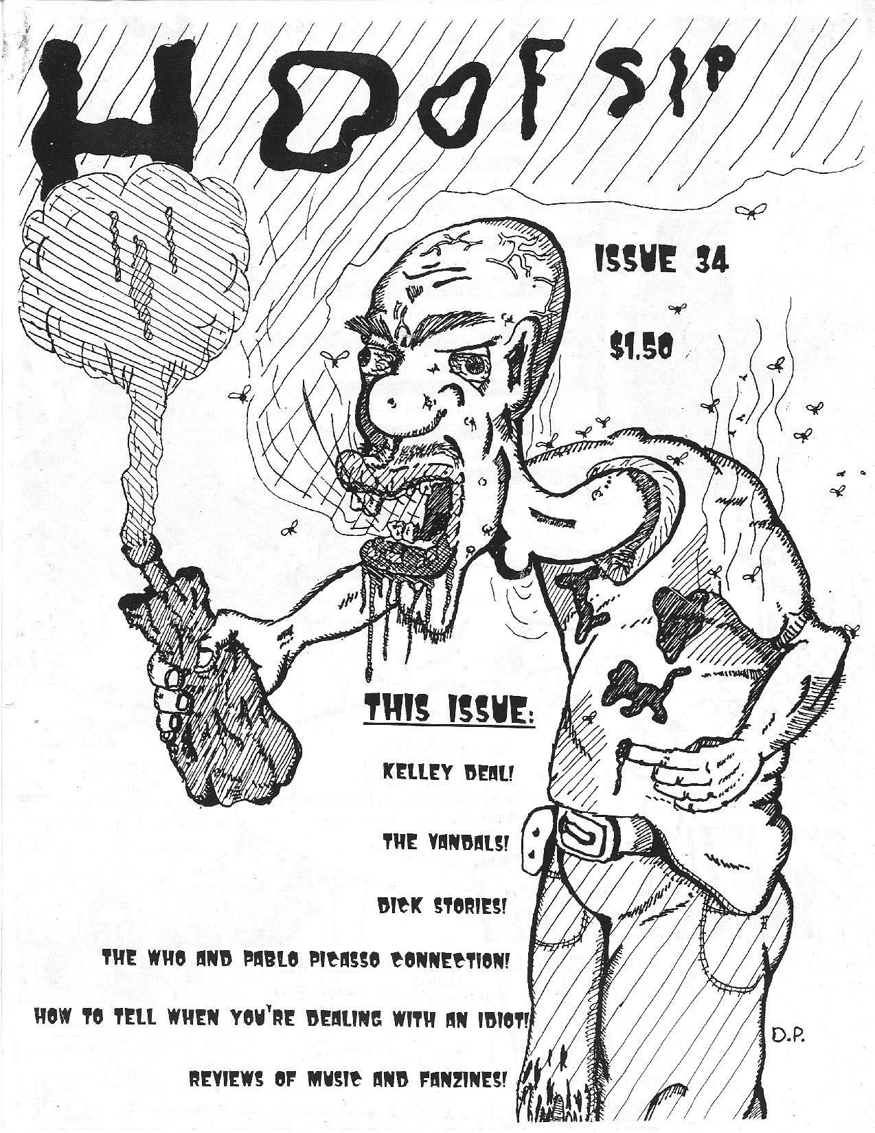 HOOFSIP #34 Cover